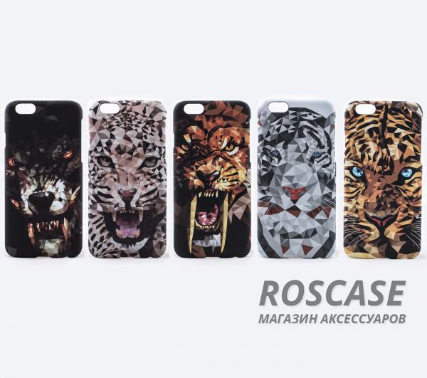 """Фото Пластиковая накладка 3D Animals для Apple iPhone 6/6s (4.7"""")"""