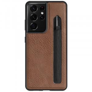 Nillkin Aoge Leather | Чехол с отделением  для Samsung Galaxy S21 Ultra