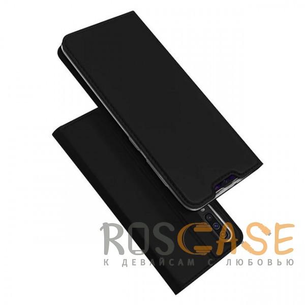 Фото Черный Чехол-книжка Dux Ducis с карманом для визиток для Samsung Galaxy A70 (A705F)