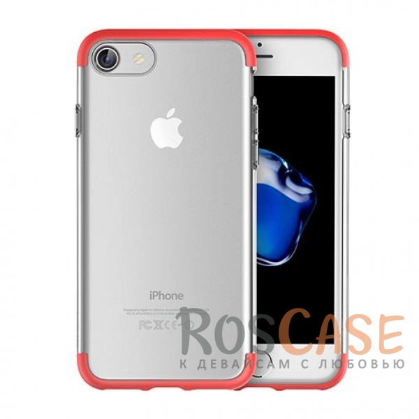 TPU+PC чехол Rock Cheer Series для Apple iPhone 7 (4.7) (Красный)Описание:компания&amp;nbsp;Rock;материалы: термополиуретан, поликарбонат;совместимость: Apple iPhone 7 (4.7);тип: накладка.<br><br>Тип: Чехол<br>Бренд: ROCK<br>Материал: TPU