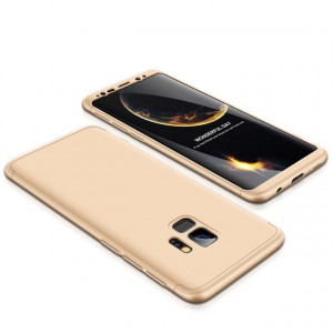 GKK LikGus 360°   Двухсторонний чехол для Samsung Galaxy S9+ с защитными вставками
