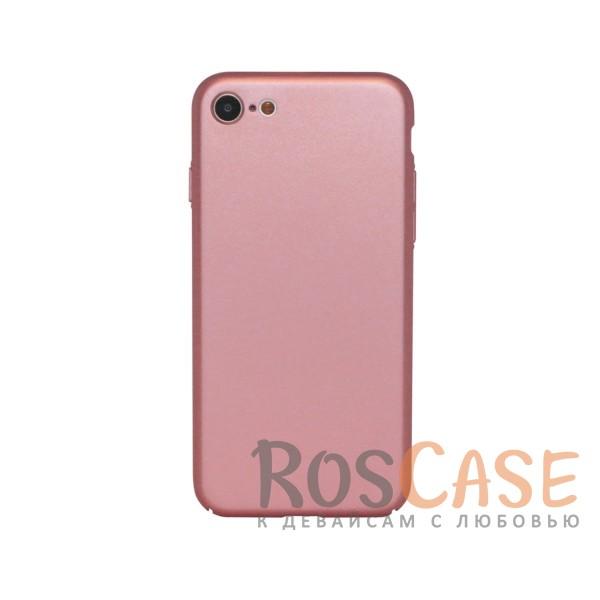 Матовая soft-touch накладка Joyroom из ударостойкого пластика с дополнительной защитой углов для Apple iPhone 7 / 8 (4.7) (Розовый)Описание:бренд - Joyroom;совместимость - Apple iPhone 7 / 8 (4.7);материал - пластик;тип - накладка.<br><br>Тип: Чехол<br>Бренд: Epik<br>Материал: Пластик