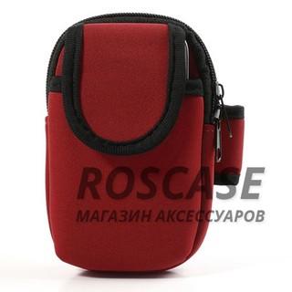 """Фото Чехол с креплением на руку и карманом """"Sports Armband"""" для телефона 3.5-4.7 дюйма"""