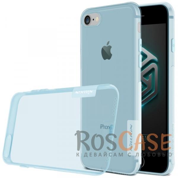 """Изображение Голубой (прозрачный) Nillkin Nature   Силиконовый чехол для Apple iPhone 7 / 8 (4.7"""")"""