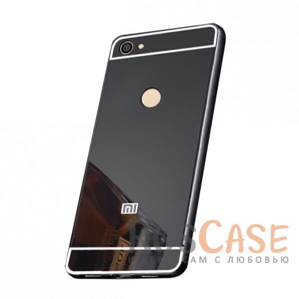 Защитный металлический бампер с зеркальной вставкой для Xiaomi Redmi Note 5A Prime / Y1Описание:разработан для Xiaomi Redmi Note 5A Prime / Y1;материалы - металл, акрил;тип - бампер с задней панелью;зеркальная поверхность;металлический бампер;защита от царапин и ударов.<br><br>Тип: Чехол<br>Бренд: Epik<br>Материал: Металл