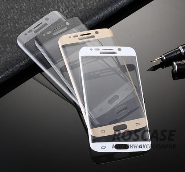 Противоударное закаленное стекло 0.2mm с защитой на весь экран Samsung G925F Galaxy S6 Edge (2.5D)Описание:идеально подходит для Samsung G925F Galaxy S6 Edge;материал: закаленное стекло;тип: стекло на экран.&amp;nbsp;Особенности:закругленные грани 2.5D;ультратонкое  -  0,2 мм;прочность  -  9H;закрывает весь экран, в том числе боковые закругления;ударопрочное;олеофобное покрытие;цветная окантовка;защищает от царапин.<br><br>Тип: Защитное стекло<br>Бренд: Epik
