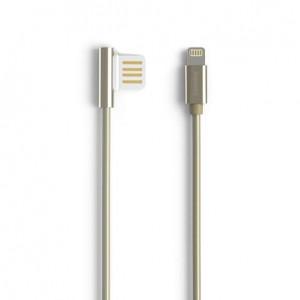 "Remax Emperor | Дата кабель USB to Lightning с угловым штекером USB (100 см) для Apple iPhone 5/5S (4.0"")"