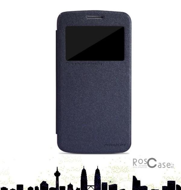 Кожаный чехол (книжка) Nillkin Sparkle Series для Samsung G7102 Galaxy Grand 2 (Черный)Описание:компания-производитель  -  Nillkin;создан специально для Samsung G7102 Galaxy Grand 2;материал  -  синтетическая кожа и пластик (поликарбонат);форм-фактор  -  чехол-книжка;высокий уровень прочности и стойкости к истиранию.Особенности:широкий выбор цветов;защищает смартфон с двух сторон;легко фиксируется;не требует особого ухода.<br><br>Тип: Чехол<br>Бренд: Nillkin<br>Материал: Искусственная кожа