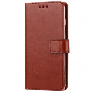 "Plain |  кожаный чехол-книжка (5.4-5.7"") для Xiaomi Redmi Pro"