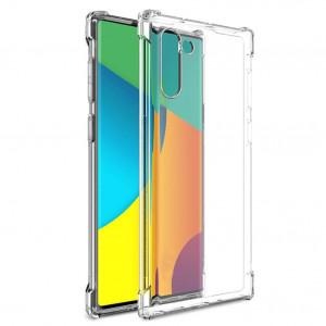King Kong Armor | Противоударный прозрачный чехол для Samsung Galaxy Note 10 с дополнительной защитой углов