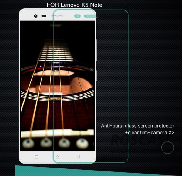 Защитное стекло Nillkin Anti-Explosion Glass Screen (H) для Lenovo K5 Note / K5 Note ProОписание:производство компании&amp;nbsp;Nillkin;изготовлен специально для Lenovo K5 Note / K5 Note Pro;материал: закаленное стекло;форма: защитное стекло на экран.Особенности:ультратонкое;прочное;антибликовое и олеофобное покрытие;легко устанавливается и снимается;легко очищается.<br><br>Тип: Защитное стекло<br>Бренд: Nillkin