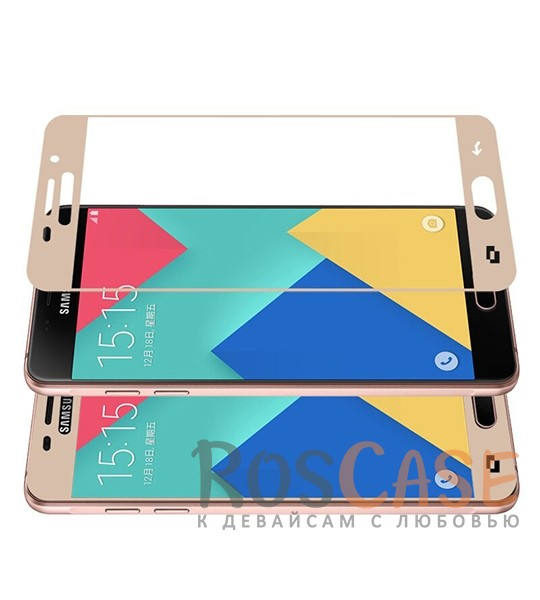 Купить Caseguru | Полноэкранное Защитное Стекло Для Для Samsung A310F Galaxy A3 (2016)