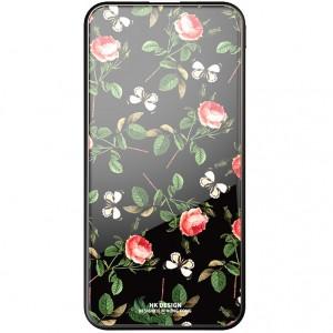Bonen GlassPrint WK HP-55 | Портативное зарядное устройство Power Bank со стеклянным покрытием и принтом (10000 mAh) для Samsung Galaxy J7 Neo (J701F)