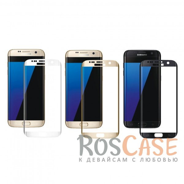 Защитное стекло 3D CaseGuru Tempered Glass для Samsung G935F Galaxy S7 Edge<br><br>Тип: Защитное стекло<br>Бренд: CaseGuru