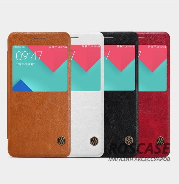 Кожаный чехол (книжка) Nillkin Qin Series для Samsung A510F Galaxy A5 (2016)Описание:производитель:&amp;nbsp;Nillkin;совместим с Samsung A510F Galaxy A5 (2016);материал: натуральная кожа;тип: чехол-книжка.&amp;nbsp;Особенности:окошко в обложке;ультратонкий;фактурная поверхность;внутренняя отделка микрофиброй.<br><br>Тип: Чехол<br>Бренд: Nillkin<br>Материал: Натуральная кожа