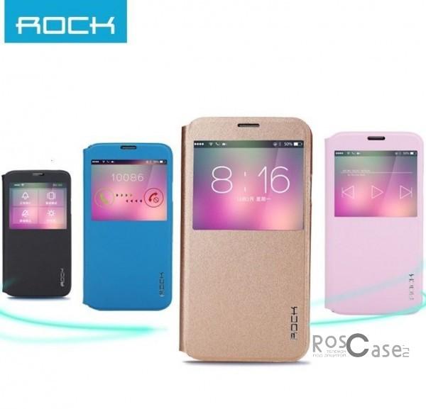 Кожаный чехол (книжка) Rock Uni Series для Samsung G900 Galaxy S5Описание:производитель  -  Rock;совместим с Samsung G900 Galaxy S5;материалы  -  кожзам и микрофибра;форма  -  чехол-книжка.&amp;nbsp;Особенности:функция Sleep mode;функция Smart window;имеет все необходимые вырезы;легко очищается;не увеличивает габариты;защищает от ударов и царапин;морозоустойчивый.<br><br>Тип: Чехол<br>Бренд: ROCK<br>Материал: Искусственная кожа