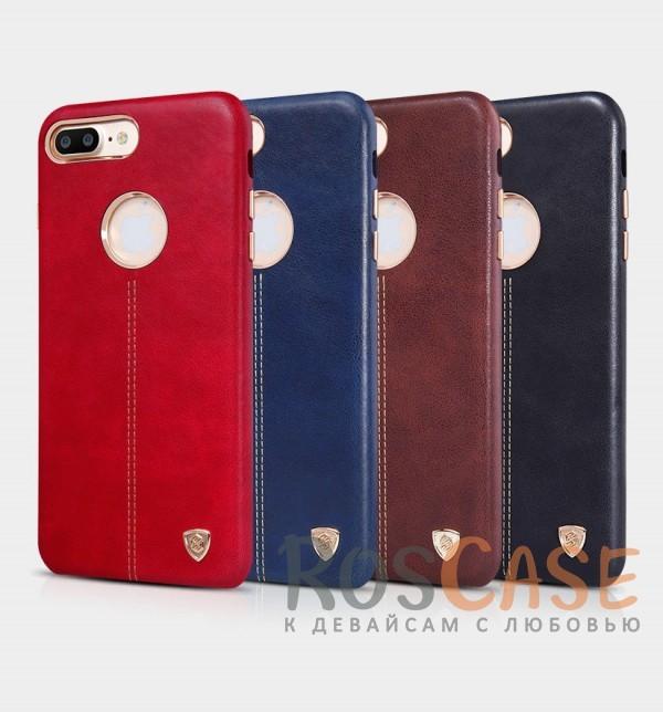 Кожаная накладка Nillkin Englon Series для Apple iPhone 7 plus (5.5)Описание:произведено брендом&amp;nbsp;Nillkin;совместимость - Apple iPhone 7 plus (5.5);материал: натуральная кожа, микрофибра;тип: накладка.&amp;nbsp;Особенности:ультратонкий дизайн;фактурная поверхность;декоративная строчка;не скользит в руках;защищает заднюю панель и боковые грани.<br><br>Тип: Чехол<br>Бренд: Nillkin<br>Материал: Натуральная кожа