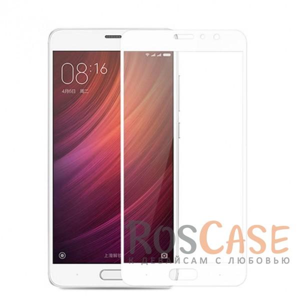Защитное стекло CaseGuru Tempered Glass на весь экран для Xiaomi Redmi Pro (Белое)<br><br>Тип: Защитное стекло<br>Бренд: CaseGuru