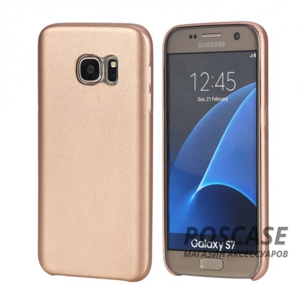 Кожаная накладка Rock Touch series для Samsung G930F Galaxy S7 (Розовый / Rose Gold)Описание: производитель  -  Rock;материал  -  искусственная кожа;форм-фактор  -  накладка;совместимость  -  смартфон Samsung G930F Galaxy S7.Особенности: внутренняя отделка  -  микрофибра;полностью исключается деформация;поверхность  -  фактурная;широкий выбор цветов.<br><br>Тип: Чехол<br>Бренд: ROCK<br>Материал: Искусственная кожа