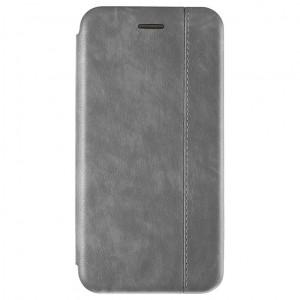 Open Color 2 | Кожаный чехол-книжка для Samsung Galaxy A70 с магнитом и подставкой
