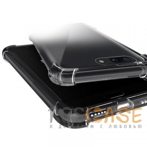Изображение Прозрачный King Kong Armor | Противоударный прозрачный чехол для Huawei P Smart+ (nova 3i) с дополнительной защитой углов