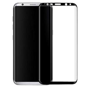 Защитное стекло 3D с цветной рамкой на весь экран для Samsung G950 Galaxy S8