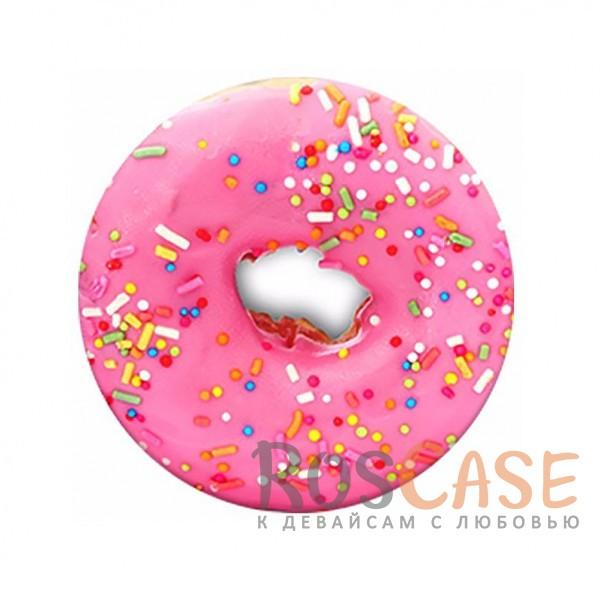 Фото Пончик Складная подставка-держатель Попсокет с необычными изображениями