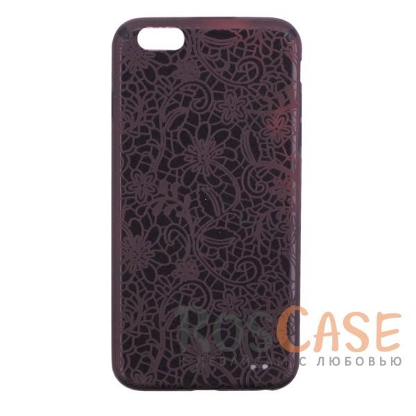 Термоиндукционный чехол Secret Case с уникальным меняющим цвет от тепла рисунком для Apple iPhone 6 plus (5.5)  / 6s plus (5.5) (Цветы / Черный)Описание:разработан для Apple iPhone 6 plus (5.5)  / 6s plus (5.5);материал - TPU;чехол имеет вставки из краски, которая меняет цвет от воздействия тепла;защищает заднюю панель и боковые грани;стильный дизайн;тонкий формат.<br><br>Тип: Чехол<br>Бренд: Epik<br>Материал: TPU