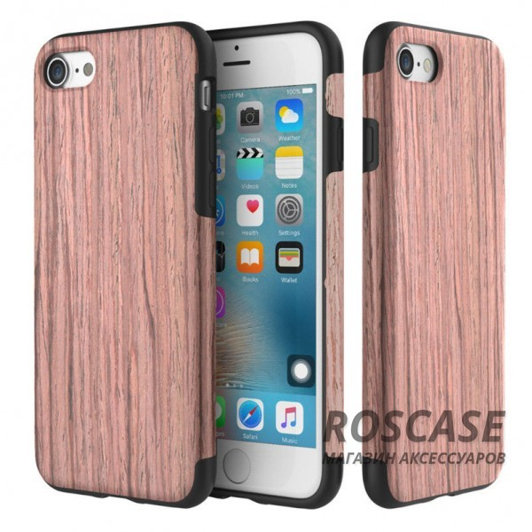 Деревянная накладка Rock Origin Series (Grained) для Apple iPhone 7 plus (5.5) (Sandalwood)Описание:бренд Rock;подходит для Apple iPhone 7 plus (5.5);форм-фактор: накладка;материал: термополиуретан и натуральное дерево.Особенности:чехол выполняет защитную и декоративную функцию;предотвращает появление царапин или других повреждений корпуса телефона;фактура шероховатая;фиксация надежная;текстура приятная на ощупь;дизайн оригинальный.<br><br>Тип: Чехол<br>Бренд: ROCK<br>Материал: TPU