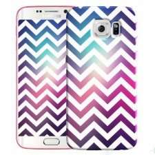 Яркий чехол с абстракцией  для Samsung Galaxy S6 Edge (G925F)