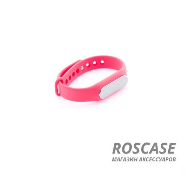 Ремешок для фитнес-браслета Xiaomi Mi Band (Розовый)Описание:бренд -&amp;nbsp;Epik;совместим с&amp;nbsp;фитнес-браслетом Xiaomi Mi Band;материал  -  силикон;тип  -  ремешок.&amp;nbsp;Особенности:не скользит на руке;регулируемая длина;подходит на запястья с разным диаметром;надежно крепится к девайсу;не боится влаги;разнообразная палитра цветов.<br><br>Тип: Общие аксессуары<br>Бренд: Epik