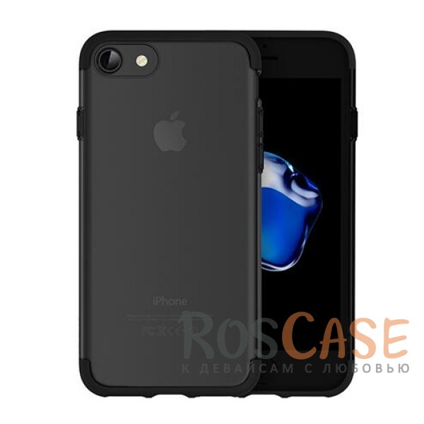 TPU+PC чехол Rock Cheer Series для Apple iPhone 7 (4.7) (Черный)Описание:компания&amp;nbsp;Rock;материалы: термополиуретан, поликарбонат;совместимость: Apple iPhone 7 (4.7);тип: накладка.<br><br>Тип: Чехол<br>Бренд: ROCK<br>Материал: TPU