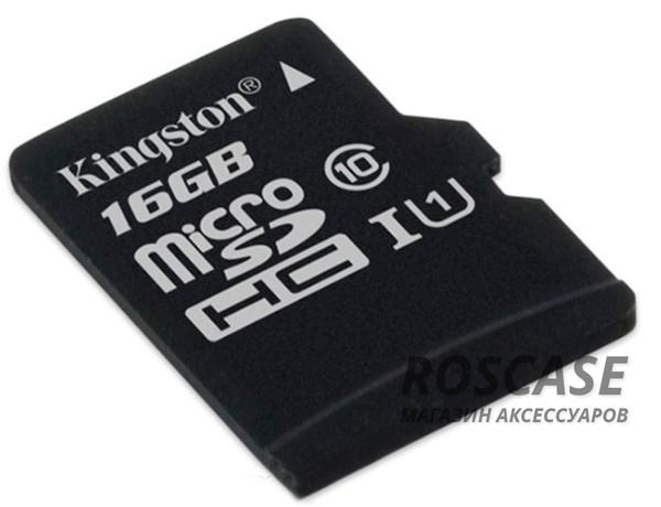 фото карта памяти Kingston microSDHC 16 GB Card Class 10