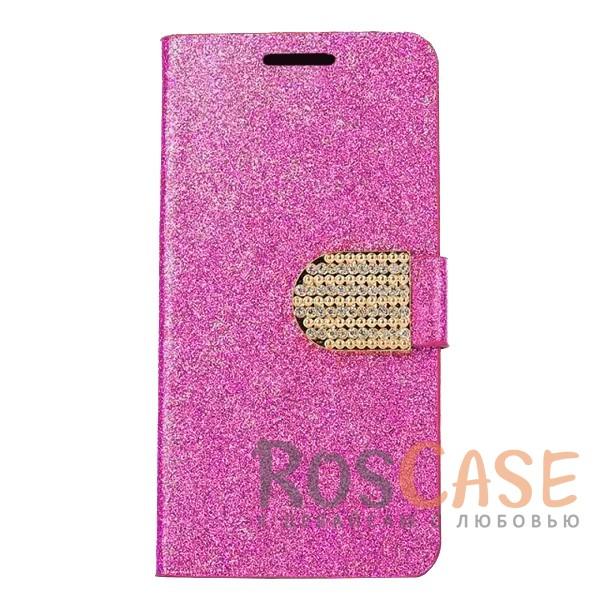 Сияющий кожаный чехол-книжка со стразами для Xiaomi Redmi 5A (Розовый)Описание:тип - чехол-книжка;совместимость - Xiaomi Redmi 5A;материал - искусственная кожа, силикон;защита со всех сторон;магнитная застежка со стразами;сияющая гладкая поверхность;внутренние кармашки для пластиковых карт;защищает от механических повреждений;уникальный яркий дизайн.<br><br>Тип: Чехол<br>Бренд: Epik<br>Материал: Искусственная кожа