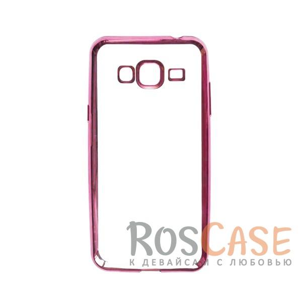 Прозрачный силиконовый чехол для Samsung J310 Galaxy J3 Pro с глянцевой окантовкой (Розовый)Описание:материал - силикон;совместим с Samsung J310 Galaxy J3 Pro;тип - накладка.Особенности:прозрачный;глянцевая окантовка;все вырезы предусмотрены;защищает от царапин и потертостей;тонкий дизайн;плотно облегает корпус.<br><br>Тип: Чехол<br>Бренд: Epik<br>Материал: TPU