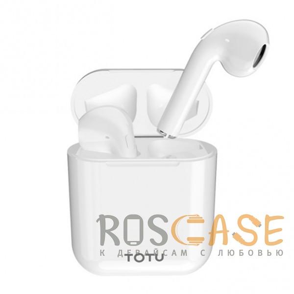 Фото TOTU Glory | Беспроводные Bluetooth наушники с зарядным кейсом и сенсорной кнопкой