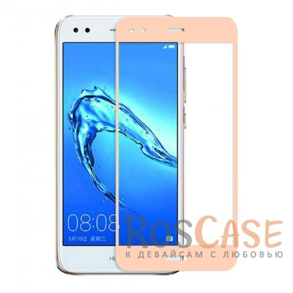 CP+ | Цветное защитное стекло для Huawei Y6 Pro (2017) / Nova Lite (2017) на весь экран (Золотой)Описание:совместимо с Huawei Y6 Pro (2017) / Nova Lite (2017);материал: закаленное стекло;тип: защитное стекло на экран;полностью закрывает дисплей;толщина - 0,3 мм;цветная рамка;прочность 9H;покрытие анти-отпечатки;защита от ударов и царапин.<br><br>Тип: Защитное стекло<br>Бренд: Epik