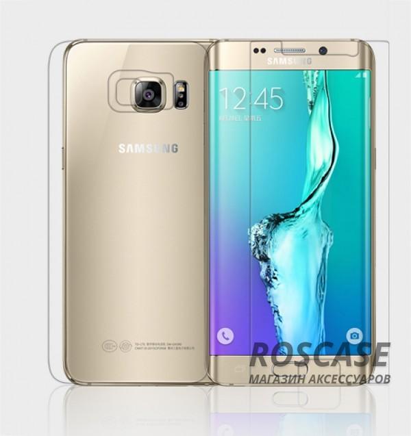 Защитная пленка Nillkin (на обе стороны) для Samsung Galaxy S6 Edge Plus (Матовая)Описание:бренд:&amp;nbsp;Nillkin;совместим с Samsung Galaxy S6 Edge Plus;используемые материалы: полимер;тип: пленка на обе стороны.&amp;nbsp;Особенности:все необходимые функциональные вырезы;антибликовое покрытие;не влияет на чувствительность сенсора;легко поддается процедуре чистки;матовая;закрывает только центральную часть экрана;на ней не заметны следы от пальцев.<br><br>Тип: Защитная пленка<br>Бренд: Epik