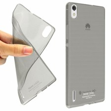 фото TPU чехол IMAK 0.6 mm Stealth sets для Huawei Ascend P7