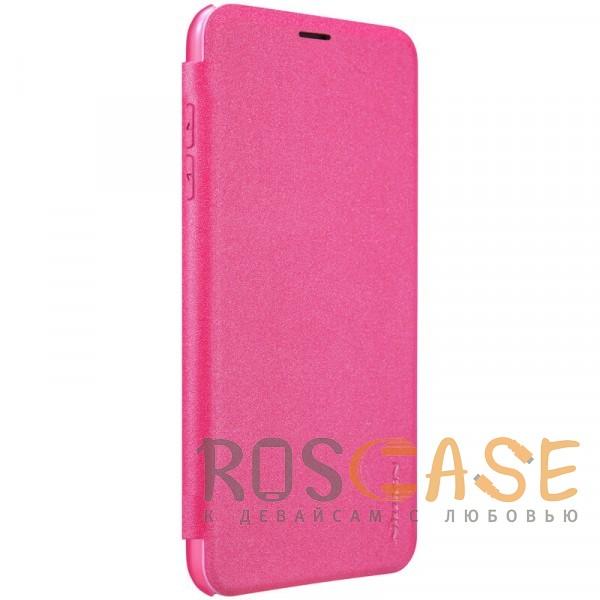 "Изображение Розовый Nillkin Sparkle | Чехол-книжка для Apple iPhone XR (6.1"")"