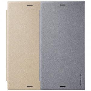 Nillkin Sparkle | Кожаный чехол-книжка для Sony Xperia XZ1 / XZ1 Dual