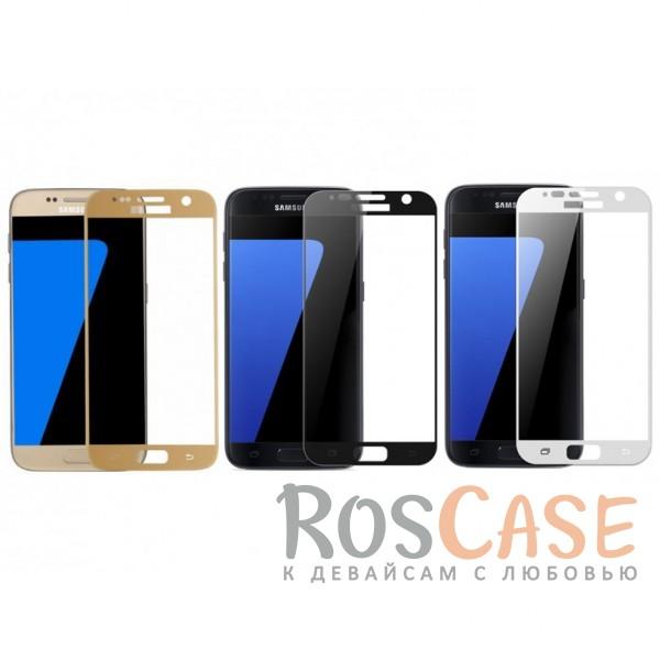 Ультратонкое цветное стекло с закругленными краями для Samsung G930F Galaxy S7 (в упаковке)?Описание:защита от ударов и царапин;ультратонкий дизайн;идеально совместимо с Samsung G930F Galaxy S7;ударопрочное;цветная рамка;олеофобное покрытие.<br><br>Тип: Защитное стекло<br>Бренд: Epik