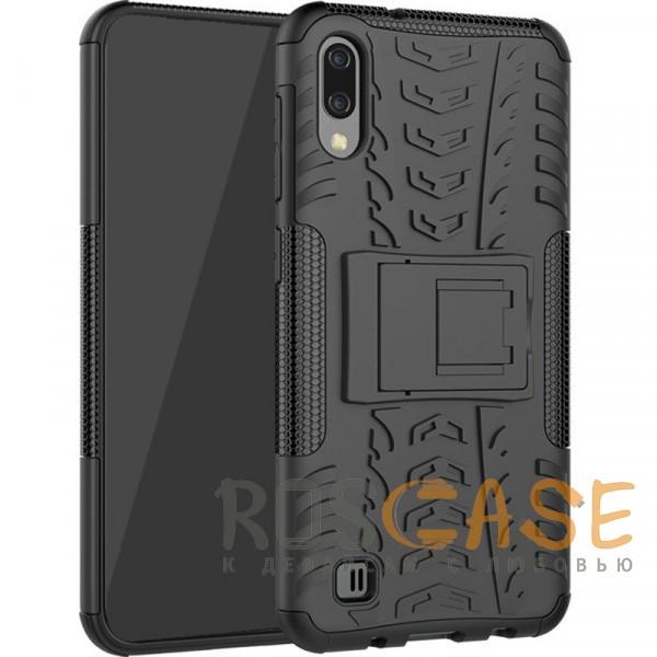 Фото Черный Shield | Противоударный чехол для Galaxy A20 / A30 / A50 с подставкой