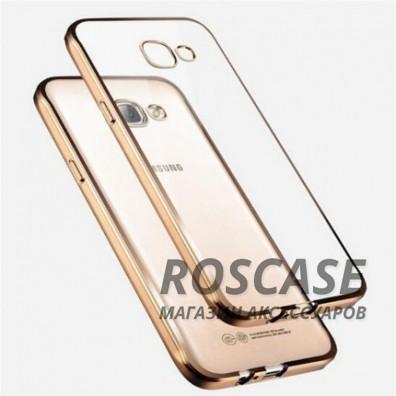 Прозрачный силиконовый чехол для Samsung A310F Galaxy A3 (2016) с глянцевой окантовкой (Золотой)Описание:подходит для Samsung A310F Galaxy A3 (2016);материал - силикон;тип - накладка.Особенности:глянцевая окантовка;прозрачный центр;гибкий;все вырезы в наличии;не скользит в руках;ультратонкий.<br><br>Тип: Чехол<br>Бренд: Epik<br>Материал: Силикон
