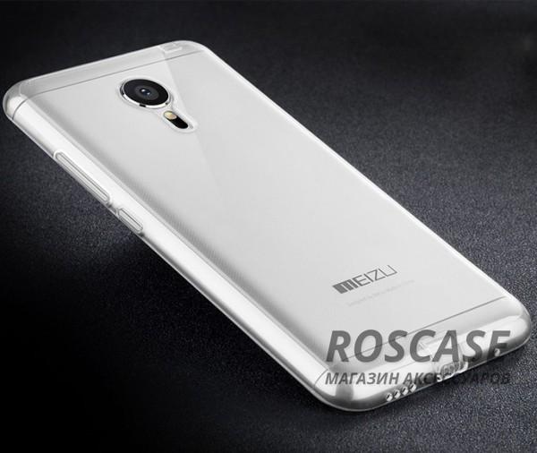 Тонкий прозрачный силиконовый чехол Msvii для Meizu MX5 с заглушкой (Бесцветный)Описание:производитель  -  Msvii;совместимость  -  смартфон Meizu MX5;материал  -  силикон;форм-фактор  -  накладка.Особенности:есть заглушка;износоустойчив и прочен;не&amp;nbsp; теряет гибкости и эластичности;не подвергается деформации;имеет все функциональные вырезы;не скользит в руках.<br><br>Тип: Чехол<br>Бренд: Epik<br>Материал: TPU