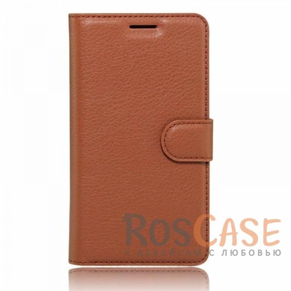 Кожаный чехол (книжка) Wallet с визитницей для Meizu M3 Note (Коричневый)Описание:разработан для Meizu M3 Note;материалы  -  искусственная кожа, термополиуретан;форма  -  чехол-книжка.&amp;nbsp;Особенности:гладкая поверхность;предусмотрены все функциональные вырезы;кармашки для визиток/кредитных карт/купюр;магнитная застежка;защита от механических повреждений;трансформируется в подставку.<br><br>Тип: Чехол<br>Бренд: Epik<br>Материал: Искусственная кожа