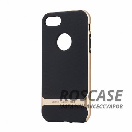 "Фото Черный / Champagne gold Rock Royce | Чехол для Apple iPhone 7 / 8 (4.7"")"