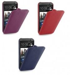 TETDED натур. кожа | Чехол-флип для HTC New One 2 / M8