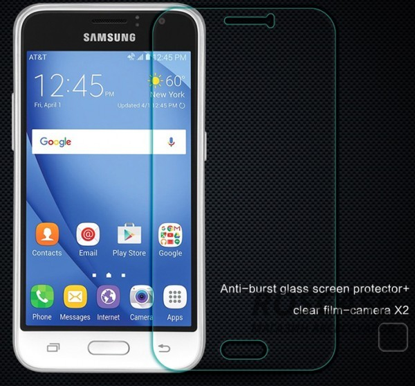 Защитное стекло Nillkin Anti-Explosion Glass (H) для Samsung J120F Galaxy J1 (2016)Описание:производство компании&amp;nbsp;Nillkin;совместимо с Samsung J120F Galaxy J1 (2016);материал: закаленное стекло;форма: защитное стекло на экран.Особенности:ультратонкое;прочное;антибликовое и олеофобное покрытие;легко устанавливается и снимается;легко очищается.<br><br>Тип: Защитное стекло<br>Бренд: Nillkin