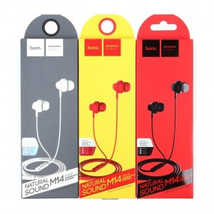 HOCO M14 | Стерео наушники с микрофоном для Попсокеты и подставки